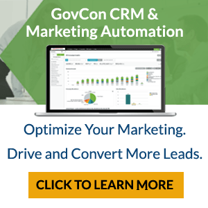 GovCon CRM and Marketing Automation Solution - Click To Learn More